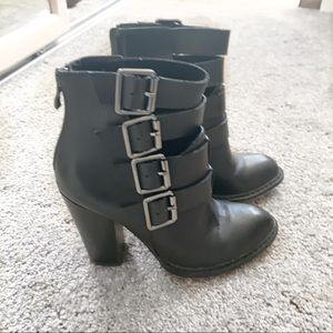 Chinese Laundry Buckle Booties